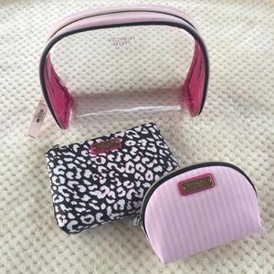 NEW!Victoria's Secret cosmetics trio bag